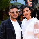 Ryan Thomas and Lucy Mecklenburgh (Ian West/PA)