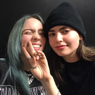 Billie Eilish and Hayley Fanning