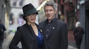 Show success: Camille O'Sullivan and Aidan Gillen. Photo: Arthur Carron