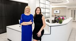 Professor Caitriona Ryan and Dr Nicola Ralph at the new Ballsbridge centre. Photo: Barry McCall