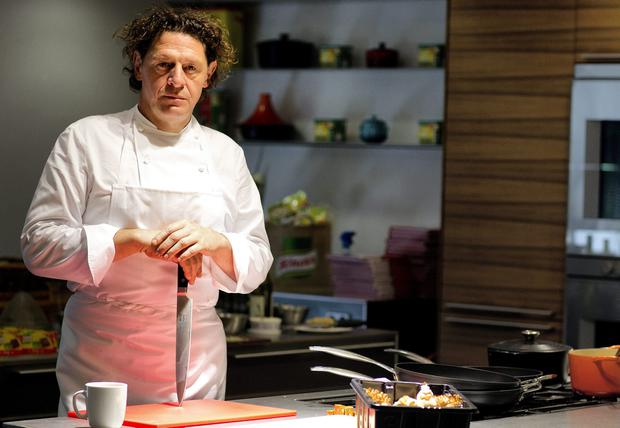Cooking up a storm: Marco Pierre White says today's snowflake workers are unable to take a roasting from authority. Photo: David Conachy