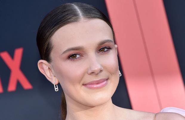 British actress Millie Bobbie Brown attends Netflix's