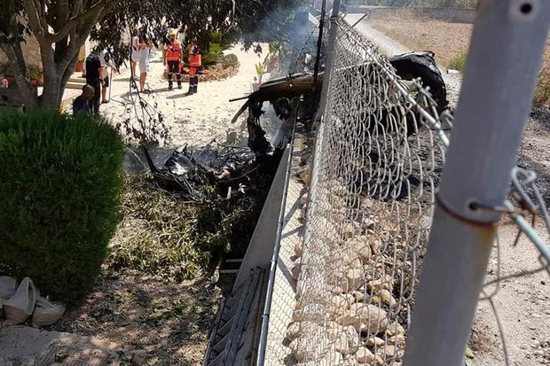 Seven dead in midair collision in Mallorca