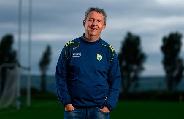 Kerry manager Peter Keane poses for a portrait during a Kerry Football All-Ireland Final press conference at Kerry GAA Centre of Excellence in Currans, Co Kerry. Photo: Stephen McCarthy/Sportsfile