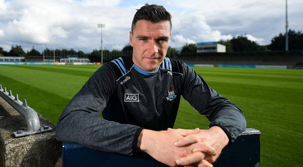 VETERAN CAMPAIGNER: Dublin's Paddy Andrews at Parnell Park ahead of the All-Ireland SFC final. Photo: David Fitzgerald/Sportsfile