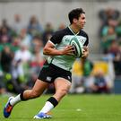 Despite the lack of match practice, Van Graan would back Carbery to hit the ground running in Japan if he can get fit. Photo: David Fitzgerald/Sportsfile