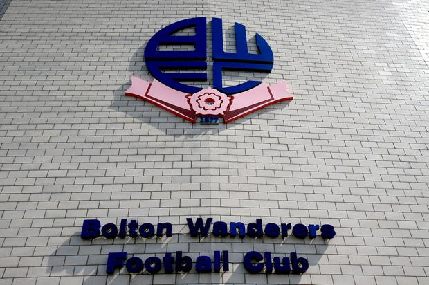 Wanderers had been given until 5pm today by the EFL for a takeover to be completed or face having their league membership revoked. Photo: PA