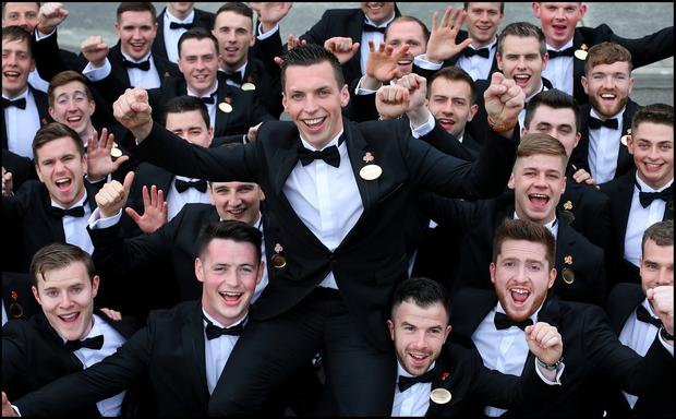 Jamie Flannery from Dingle is Escort of the Year. Picture: Steve Humphreys