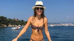 Vogue Williams is on a sun holiday. Picture: Instagram