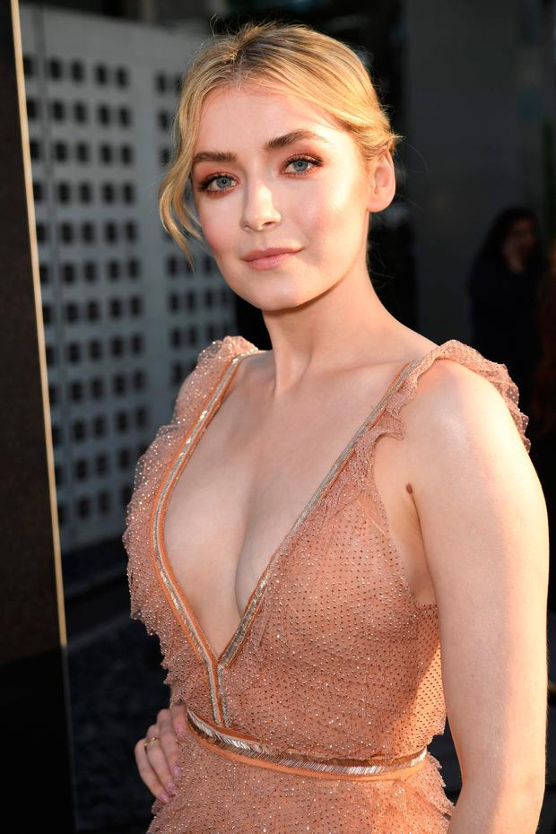 Irish actress Sarah Bolger arrives for the Season Two premiere of FX's