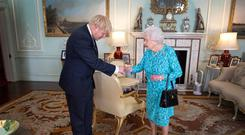 British Prime Minister, Boris Johnson's plan to suspend the UK parliament was approved by the Queen Elizabeth. Photo: Victoria Jones/PA Wire