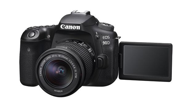 Launch: Canon has unveiled details of its Eos 90D camera
