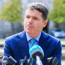 Denial: Paschal Donohoe argued against the tax-haven claim. Photo: Gareth Chaney Collins