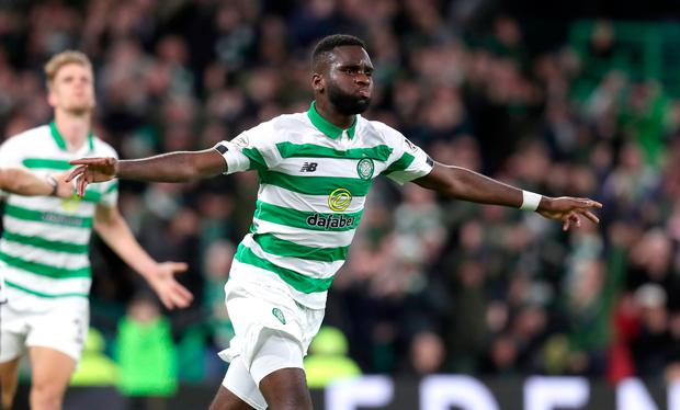 Celtic's Odsonne Edouard will provide with a potent threat