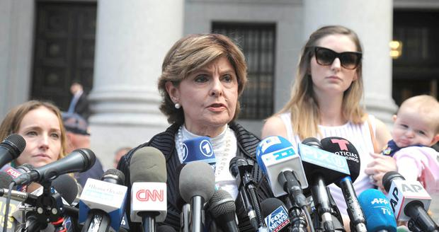 Listened to: Gloria Allred was one of the attorneys for Epstein's accusers. Photo: Bebeto Matthews/AP