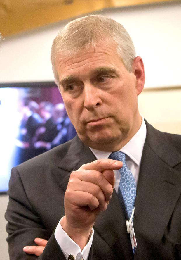 Prince Andrew: The queen's middle son admitted to meeting Epstein. Photo: Michel Euler/PA Wire