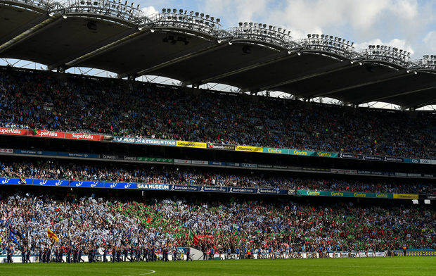 Cusack Stand: 'Siobhán' had been promised tickets. Picture: Sportsfile