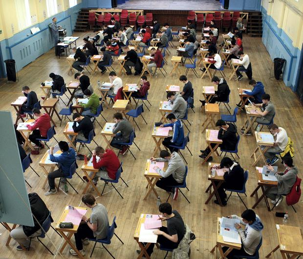 Students are seeing the fruits of their hard work in exams. Stock picture