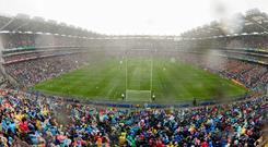 The Dublin-Kerry All-Ireland football final would attract 120,000 spectators if Croke Park had the capacity, according to the GAA. Photo: Stephen McCarthy/Sportsfile