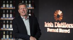 Conor McQuaid, chairman and CEO of Irish Distillers