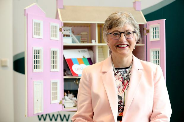 Support: Katherine Zappone launches the Draft Childminding Action Plan yesterday. Photo: Maxwells