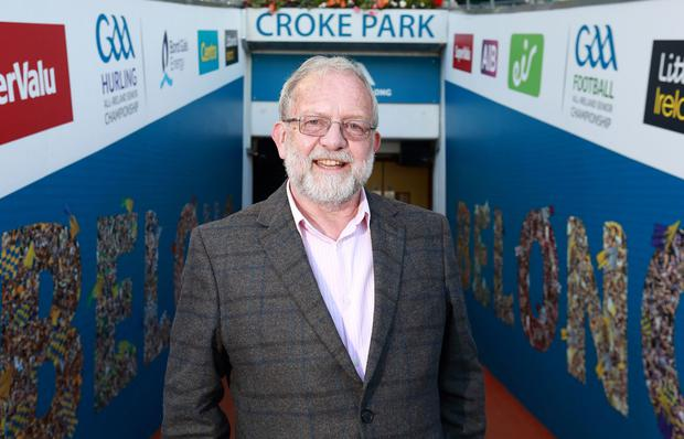 Stadium announcer Jerry Grogan will be behind the mic at Croker for the big match on Sunday. Photo: Irish Independent