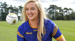 Welcome: Maria Bergin, games promotion officer at Castleknock GAA Club. Photo by Damien Eagers