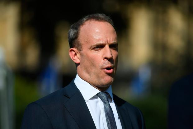 File photo dated 23/7/2019 of Foreign Secretary Dominic Raab who has confirmed that the UK will continue working with European partners to try to save the Iran nuclear deal Victoria Jones/PA Wire