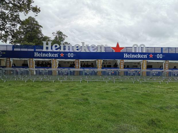 Heineken is trying to rewrite the festival stereotype as they roll out their Zero branding and their first non-alcohol tent at Electric Picnic.