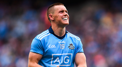 Con O'Callaghan's physique has developed markedly since his debut season with the Dublin seniors back in 2017. Photo: Sportsfile