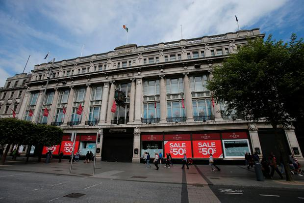 It is more than four years since the famous department store on O'Connell Street closed. Photo: Niall Carson/PA Wire