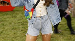 Roz Purcell pictured at the Just Eat Retreat at Electric Picnic, launching her limited edition co-created 'Natural Born Feeder' vegan Box Burger which was served exclusively from 'Flavourville' right across the weekend. Kieran Harnett
