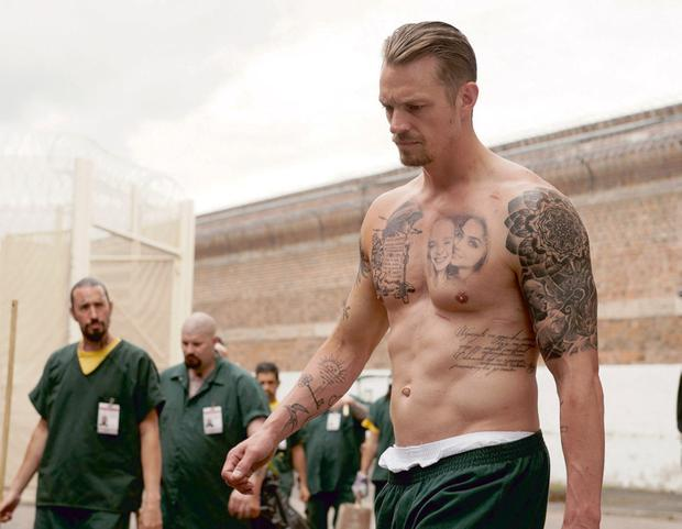 Joel Kinnaman plays an ex-con working undercover for the FBI in 'The Informer'