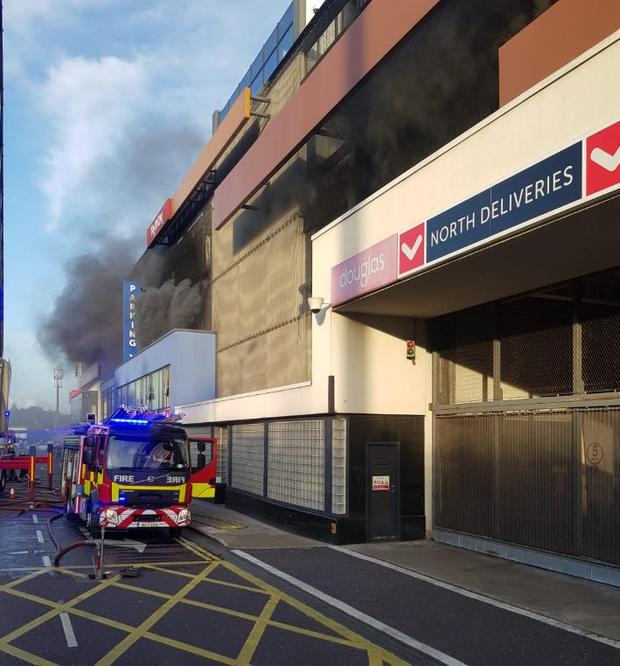 Cork: Cars destroyed in Douglas Village Shopping Centre fire