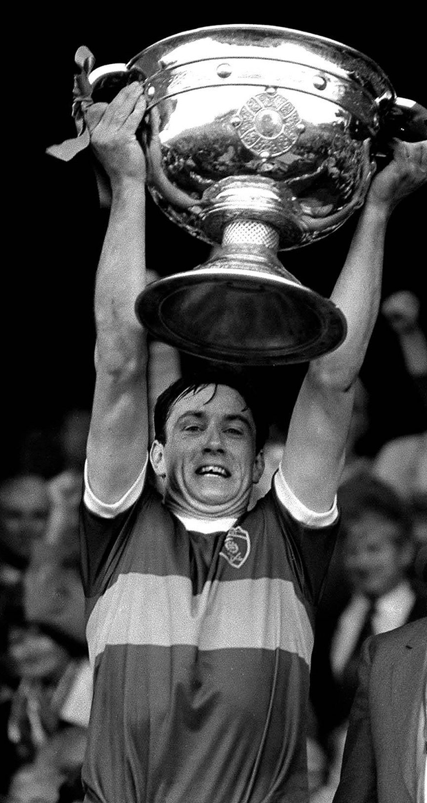 Seamus Darby was delighted when Tommy Doyle captained Kerry to All-Ireland glory in 1986. Photo: Ray McManus / SPORTSFILE