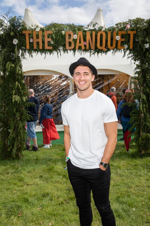 Picture shows Love Island winner Greg O'Shea at 'Tesco finest Banquet at Electric Picnic' Naoise Culhane