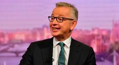 Michael Gove, the Cabinet minister charged with no-deal preparations, admitted some food prices could go up in a no-deal scenario. Photo: Jeff Overs/BBC/PA Wire