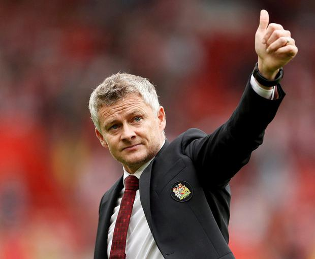 Manchester United manager Ole Gunnar Solskjaer. Photo: John Sibley/Reuters