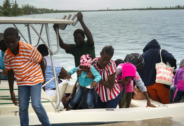People were ordered to evacuate in parts of the Bahamas (AP Photo/Ramon Espinosa)