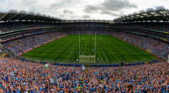 A view of Croke Park during the All-Ireland final. Photo: Sportsfile