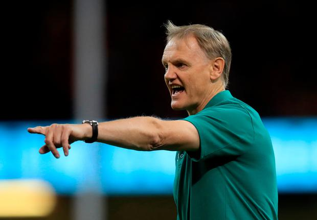 Ireland's head coach Joe Schmidt prior to the international friendly at The Principality Stadium, Cardiff last Saturday