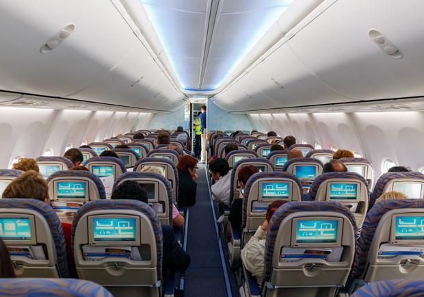 Passengers convicted of being drunk on an aircraft face a maximum fine of £5,000 (€5,498) or up to two years' imprisonment (stock image)