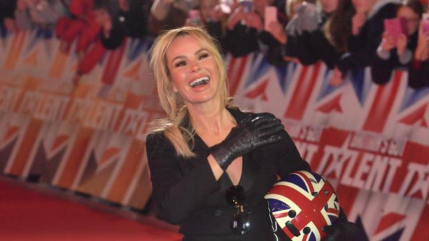 Why is Amanda Holden going to be jumping out of a plane