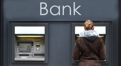 The type of services that could be impacted for customers of UK-based banks include a savings or other bank account, a credit card, a loan or a mortgage. (stock photo)