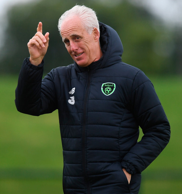 Mick McCarthy. Photo: Stephen McCarthy/Sportsfile