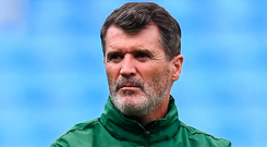 Roy Keane pictured during his time as Ireland assistant manager. Photo: Stephen McCarthy/Sportsfile