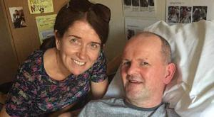 Sean Cox and his wife Martina.