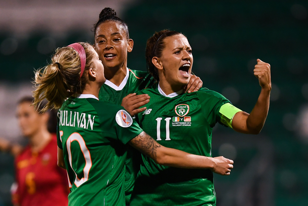 Women's soccer in Ireland hasn't received any funding in the latest awards from Sport Ireland. Photo by Stephen McCarthy/Sportsfile
