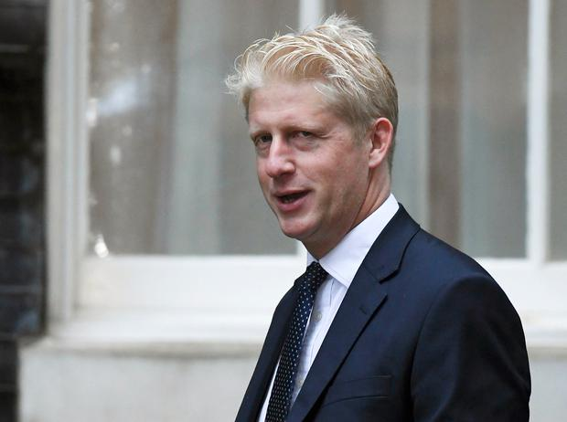 Ministerial role: Jo Johnson had been brought back into a cabinet position by his brother. Photo: AP