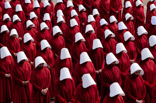 The TV series of 'The Handmaid's Tale'. Photo: The Washington Post/Getty Images